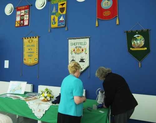 Some of the banners on display at The Exchange