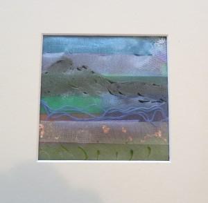 Laraine Turner's piece of fused fabric