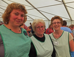Julie Blewett, Val Puddiphatt and Wendy Allen