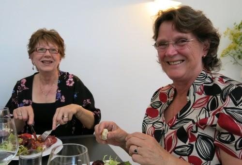 Wendy Allen and Hilary Elliff