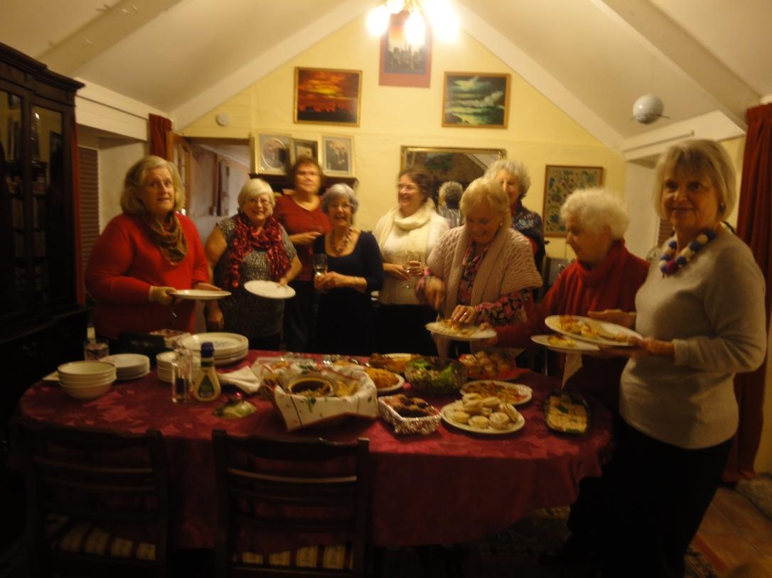 Book Group Christmas meeting