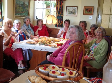 Book Group Summer Party_June 2016