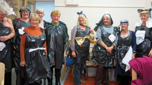 A bevy of bin bag beauties!